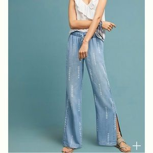 Anthropologie cloth and stone wide leg pant